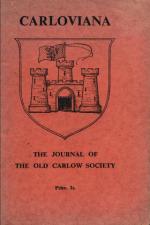 Carloviana Cover 1947