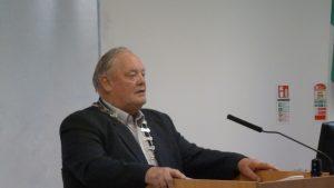 Society President Bertie Watchorn