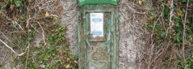 Historic Killoughternane Post Box Stolen