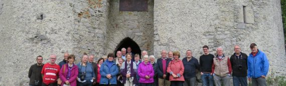 CHAS tour of Laois Castles