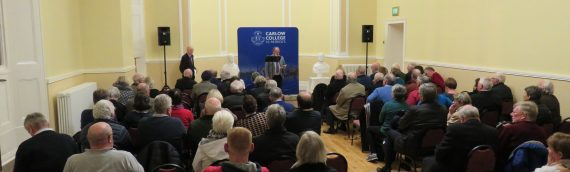 CHAS talk on Bishop Doyle (JKL) and Daniel O'Connell
